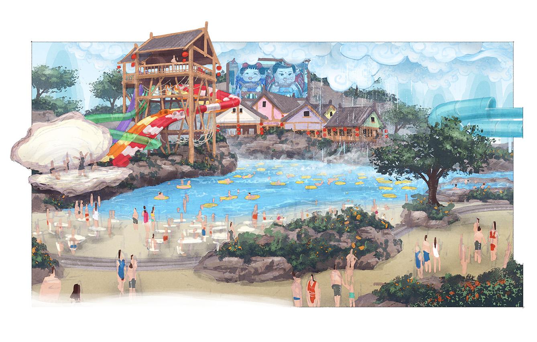 Wuxi Indoor Water Park - DTJ Design : DTJ Design